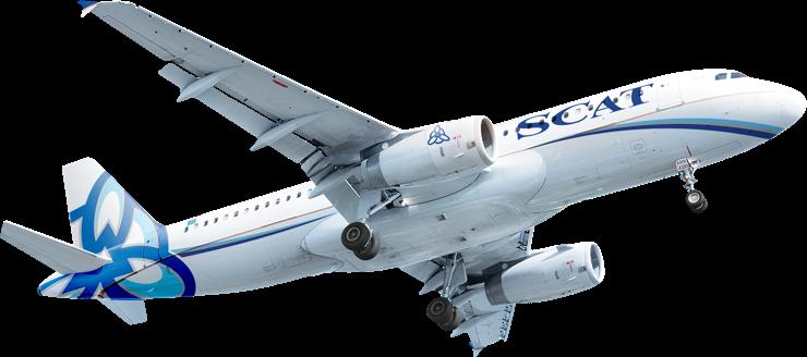 SCAT plane